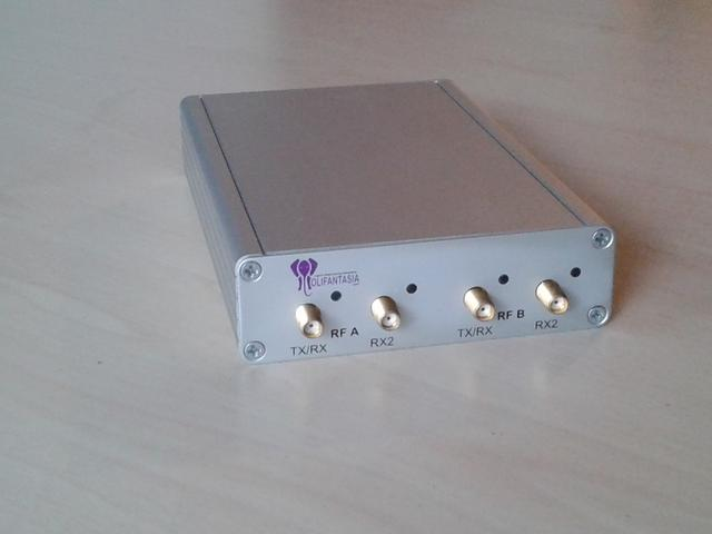 Olifantasia USRP B210 enclosure / case front